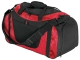 Improved Two-tone Small Duffel Red with Black Thumbnail