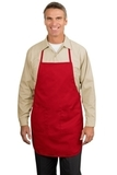 Full Length Apron Red Thumbnail