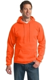 Pullover Hooded Sweatshirt Safety Orange Thumbnail