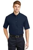 Short Sleeve Superpro Twill Shirt Navy Thumbnail