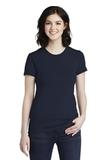 Women's Fine Jersey T-Shirt Navy Thumbnail