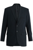 Redwood & Ross Signature Men's Single Breasted Poly/wool Suit Coat Navy Pinstripe Thumbnail