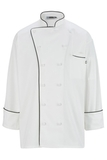 Twelve Knot Button Executive Chef Coat White Thumbnail