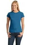 Women's Softstyle Ring Spun Cotton T-shirt Antique Sapphire Thumbnail