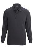 Edwards Tactical Snag Proof Unisex Long Sleeve Polo Shirt Steel Grey Thumbnail
