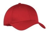 6-panel Twill Cap Red Thumbnail