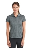 Women's Nike Golf Dri-FIT Crosshatch Polo Cool Grey with Anthracite Thumbnail