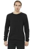 BELLACANVAS Unisex Sponge Fleece Raglan Sweatshirt Black Thumbnail