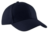 Brushed Twill Cap Navy Thumbnail