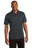 Micropique Sport-wick Pocket Polo Iron Grey Thumbnail