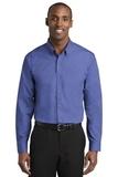 Red House Nailhead Non-Iron Shirt Mediterranean Blue Thumbnail
