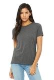 BELLACANVAS Women's Relaxed Jersey Short Sleeve Tee Grey Triblend Thumbnail