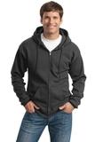 Tall Ultimate Full-zip Hooded Sweatshirt Charcoal Thumbnail