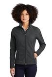 Women's Eddie Bauer Shaded Crosshatch Soft Shell Jacket Grey Thumbnail