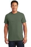 Ultra Cotton 100 Cotton T-shirt Military Green Thumbnail