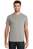 New Era Heritage Blend Crew Tee Rainstorm Grey Heather Thumbnail