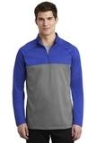 Nike Golf Therma-FIT 1/2-Zip Fleece Game Royal with Dark Grey Heather Thumbnail