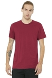 BELLACANVAS Unisex Jersey Short Sleeve Tee Cardinal Thumbnail