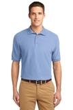 Tall Sized Silk Touch Polo Shirt Light Blue Thumbnail