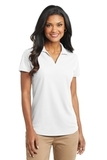 Women's Dry Zone Grid Polo White Thumbnail
