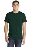 American Apparel Fine Jersey T-Shirt Forest Thumbnail