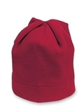 Stretch Fleece Beanie Red Thumbnail