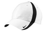 Nike Golf Nike Sphere Dry Cap White with Black Thumbnail