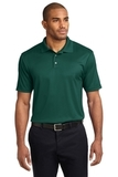 Performance Fine Jacquard Polo Shirt Green Glen Thumbnail