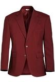Men's Value Polyester Blazer Burgundy Thumbnail
