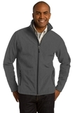 Core Soft Shell Jacket Black Charcoal Heather Thumbnail