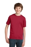 Youth Essential T-shirt Red Thumbnail
