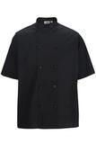 Double Breasted Server Shirt Black Thumbnail