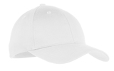 Youth 6-panel Twill Cap White Thumbnail