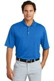 Nike Golf Dri-FIT Cross-over Texture Polo Shirt New Blue Thumbnail