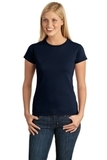 Women's Softstyle Ring Spun Cotton T-shirt Navy Thumbnail