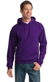 Pullover Hooded Sweatshirt Deep Purple Thumbnail
