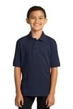 Port Company Youth 5.5-ounce Jersey Knit Polo Deep Navy Thumbnail