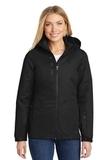 Women's Vortex Waterproof 3in1 Jacket Black with Black Thumbnail