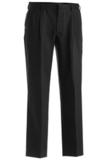 Men's Pleated Value Pants Black Thumbnail