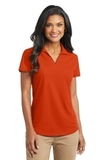 Women's Dry Zone Grid Polo Autumn Orange Thumbnail