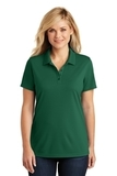 Women's Dry Zone UV MicroMesh Polo Deep Forest Green Thumbnail