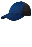 Pique Mesh Cap True Royal with Black Thumbnail
