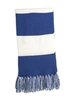 Spectator Scarf True Royal with White Thumbnail