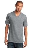 5.4-oz 100 Cotton V-neck T-shirt Athletic Heather Thumbnail