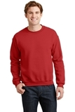 Heavy Blend Crewneck Sweatshirt Red Thumbnail