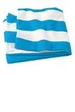 Cabana Stripe Beach Towel Turquoise Thumbnail