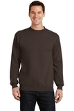 7.8-oz Crewneck Sweatshirt Dark Chocolate Brown Thumbnail