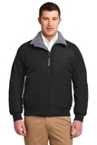 Challenger Jacket True Black with Grey Heather Thumbnail