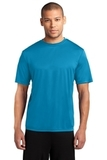 Essential Performance Tee Neon Blue Thumbnail