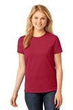 Women's 5.4-oz 100 Cotton T-shirt Red Thumbnail